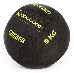 Медицинбол набивной кевларовый Profi-Fit, (Kevlar Wallball) 9 кг | sportres.ru